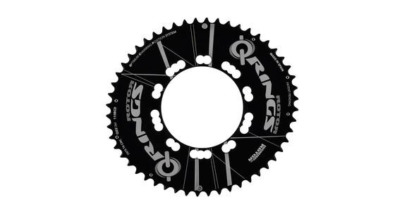 Rotor Q-Ring 110 BCD Aero Kettenblatt 50 Zähne außen schwarz